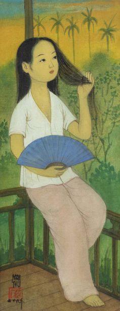 MAI -THU (Ro-Nha /Haiphong 1906 - Paris...
