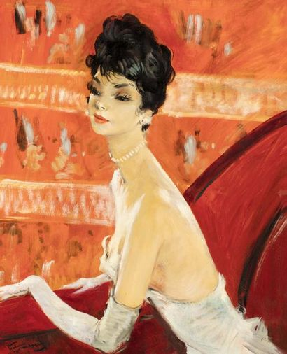 *Jean Gabriel DOMERGUE (Bordeaux 1899 - Paris...