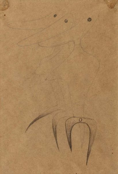 Victor BRAUNER (Pietra Neamtz 1903 - Paris...