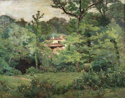 Alfred Aloysius SMITH (1854 - 1927)  Maison...
