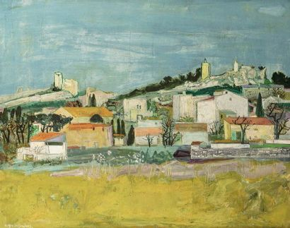 Roger BEZOMBES (Paris 1913 - 1994)  Eygalières...