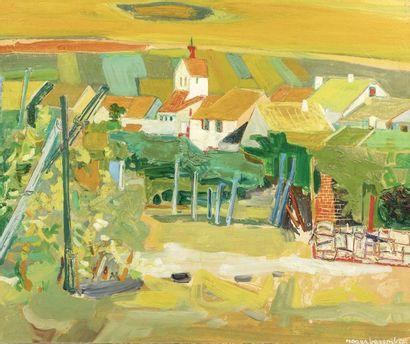 Roger BEZOMBES (Paris 1913 - 1994)  Riquewihr,...