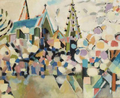 Jacques LAGRANGE (Paris 1917 - 1995)  Chartres,...