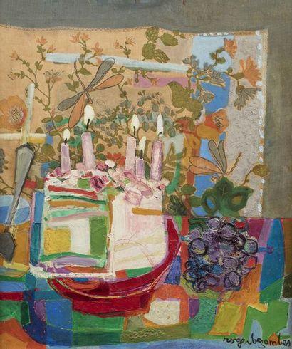 Roger BEZOMBES (Paris 1913 - 1994)  L'anniversaire...