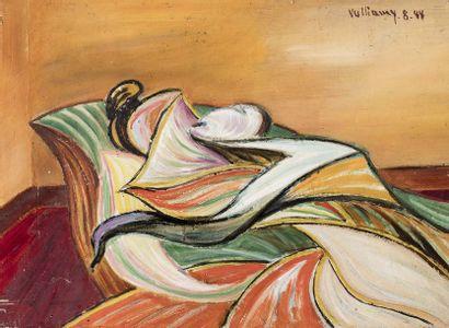 Gérard VULLIAMY (1909 - 2005)  Composition...