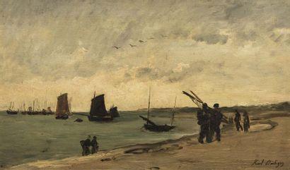 Karl DAUBIGNY (Paris 1846 - Auvers sur Oise...