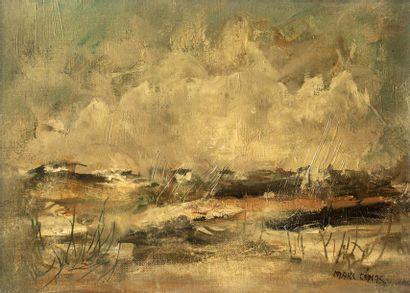 Marc CENAC (1920 - 2004)  Paysage, Vendée...
