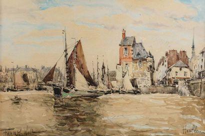 FRANK - WILL (Nanterre 1900-1951)  Honfleur...