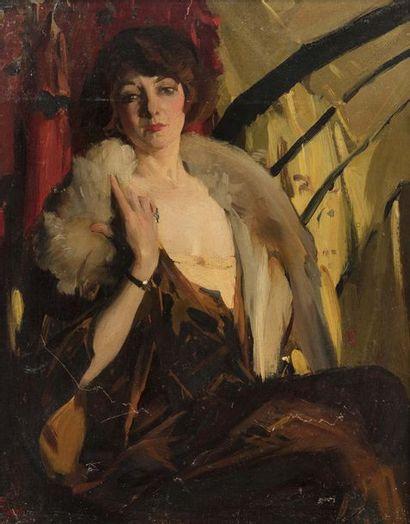 Virgilio CONSTANTINI (1882 - 1940)  Portrait...