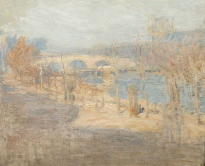 Ernest LAURENT (Gentilly 1859 - Bievres 1929)...