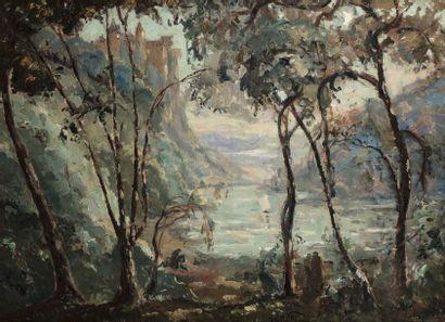 Emmanuel de LA VILLEON (Fougères 1858 - Paris...