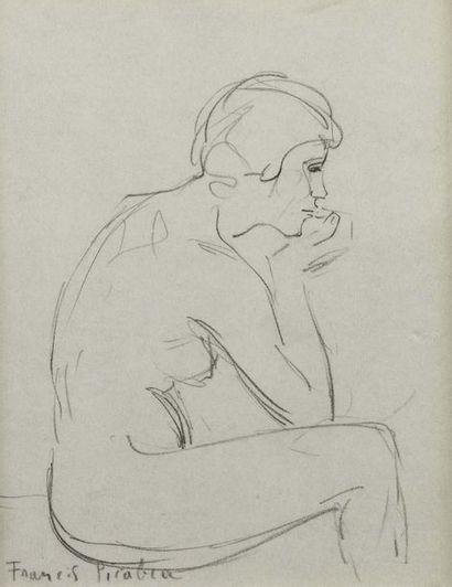 Francis PICABIA (Paris 1879 - 1953)  Etude...