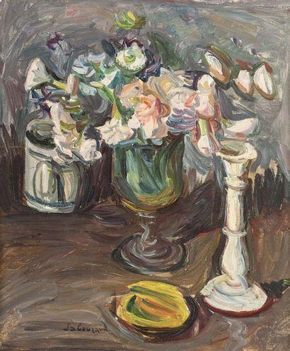 Emile SABOURAUD (1900 - 1996) Composition...