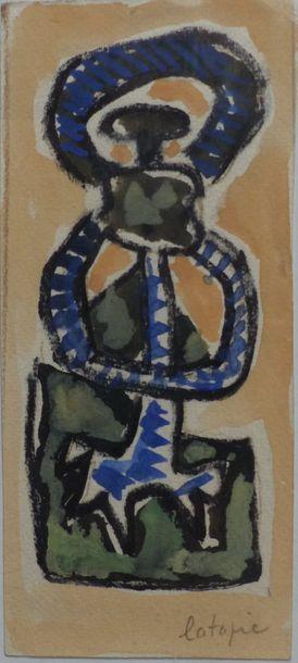 Louis LATAPIE (1891-1972)  Composition  Technique...