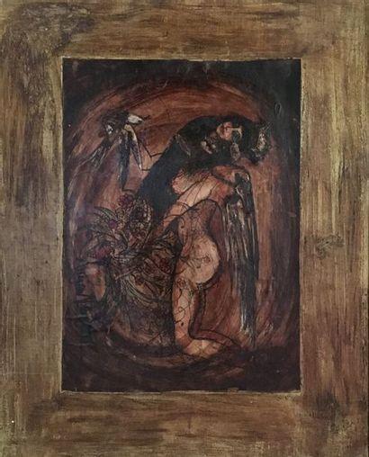 Lucien VERDI (Actif au XXe siècle)  Femme...