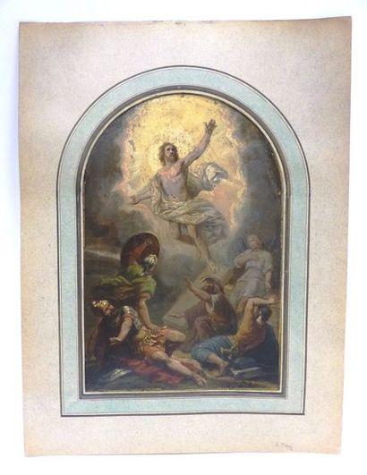 EMILE ALFRED MERY (1824-1896)  Scène biblque...