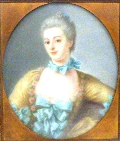 École Française du XVIIIème  Portrait de...
