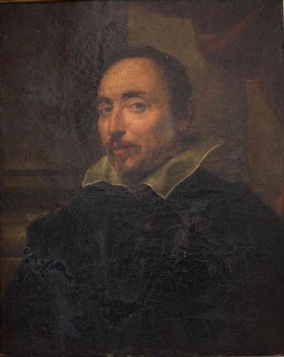 D'après VELASQUEZ, XIXème siècle  Portrait...