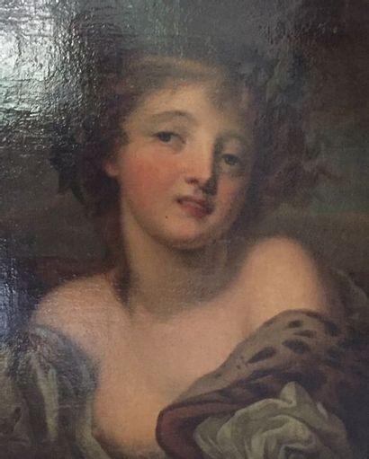 Attribué à Jacques VALLIN  Huile sur toile...