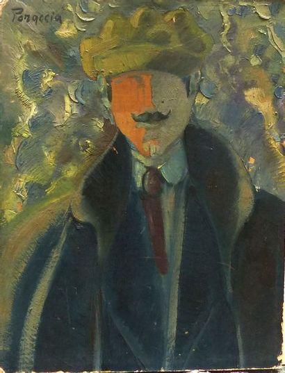 Piero PORACCIA (1893-1965)  Autoportrait...