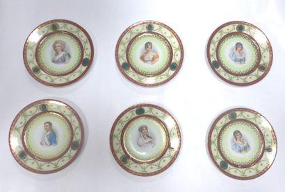 6 assiettes   x Napoleon Teller Durchmesser:...