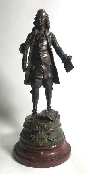 S. KINSBURGER  Musicien Rameau, groupe en...