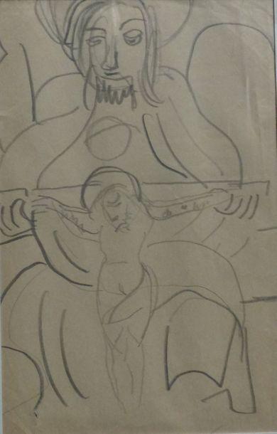 Charlotte HENSCHEL (1905-1985)  Ensemble...