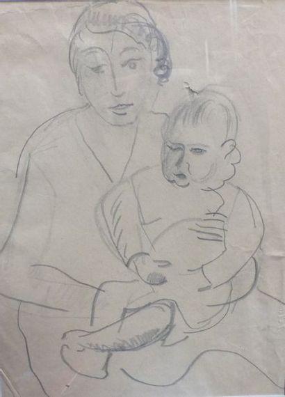 Charlotte HENSCHEL (1905-1985)    - femme...