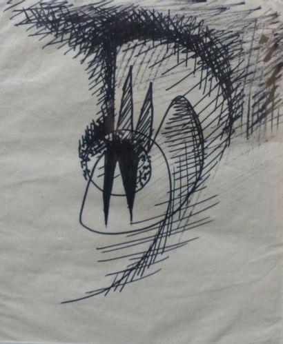 Charlotte HENSCHEL (1905-1985)  Trois compositions...