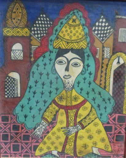 Fatima HASSAN EL FAROUJ (1945-2011)  La mariée...