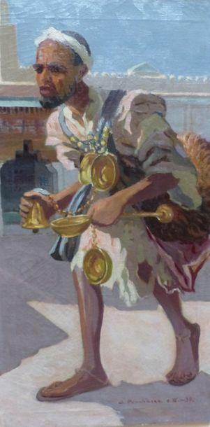 Antonín PROCHAZKA (1882-1945)  Le porteur...