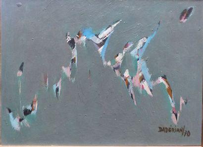 Dikran DADERIAN (1929)  Composition  Huile...