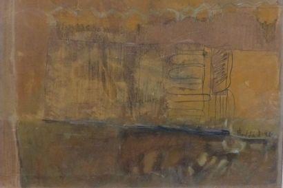 Fadia HADDAD (1959)  Alignement lointain...