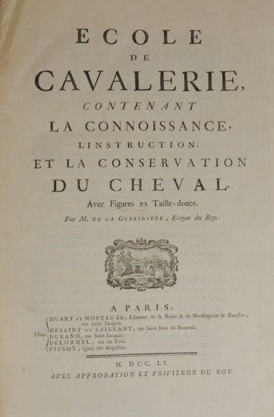 Equitation - LA GUERINIERE (François Robichon...