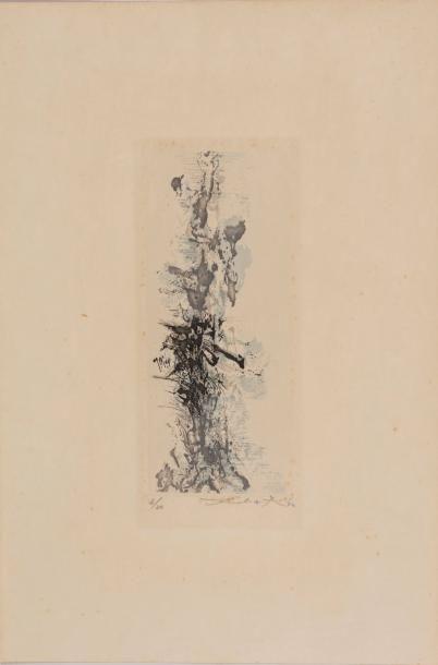 Zao WOU-KI (1921-2013) Les terrasses de jade,...