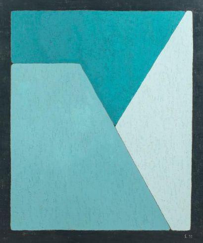 Elie BORGRAVE (1905-1992)  Sans titre, 1975...