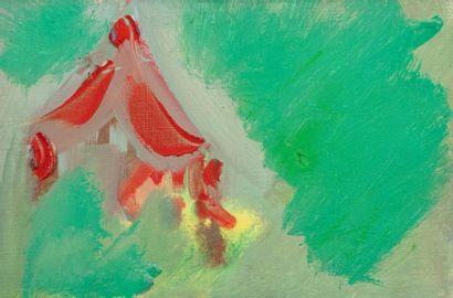 Olivier DEBRE (1920-1999)  La ruche, Kiyoharu, 1991  Huile sur toile signée, datée...
