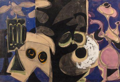 Claude VENARD (1913-1999)  Composition, 1957...