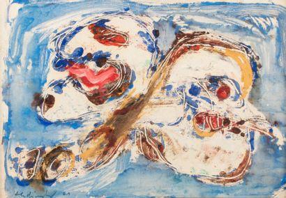 Pierre ALECHINSKY (né en 1927) Volte Face,...