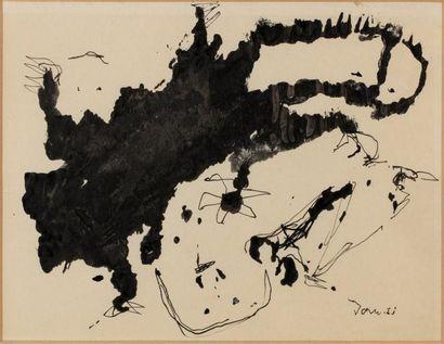 Asger JORN (1914-1973)  Sans titre  Encre...