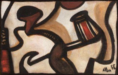 Jean-Michel ATLAN (1913-1960)  Sans titre,...