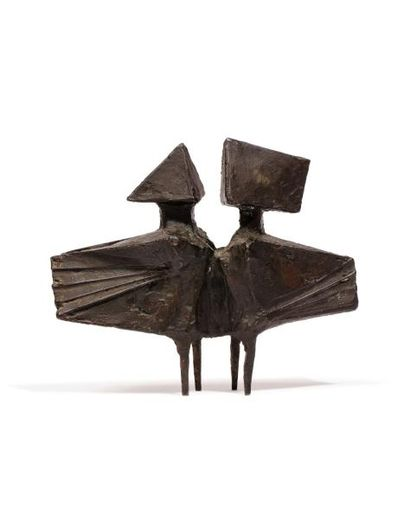 *Lynn CHADWICK (1914-2003)  Winged Figures,...