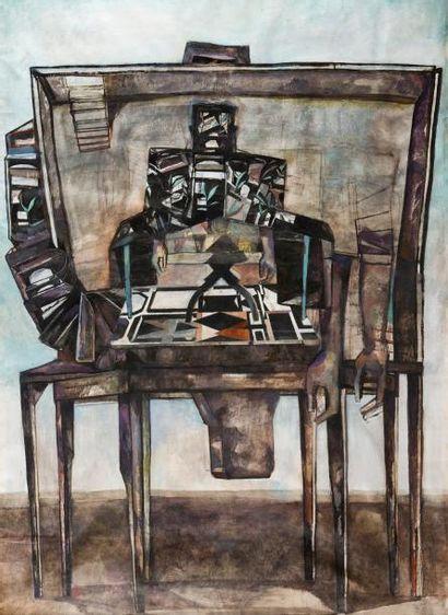Marc-Antoine FEHR (né en 1953)  Homme-tronc,...