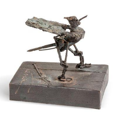 CÉSAR (1921-1998)  Moustique, 1984  Bronze...