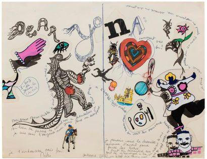 *Niki DE SAINT-PHALLE (1930-2002)  Composition...