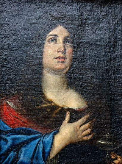 Ecole bolognaise du XVIIe siècle  Portrait...