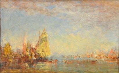 Félix ZIEM (Beaune 1821 – Paris 1911)  Coucher...
