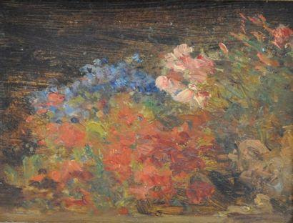 Félix ZIEM (Beaune 1821 – Paris 1911)  Bouquet...