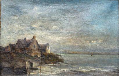 Suiveur d'Eugène Isabey (1804-1886)  Bord...