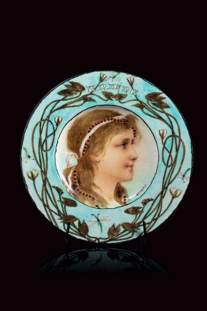 Théodore DECK (1823 - 1891) & Sophie SCHAEPPI...